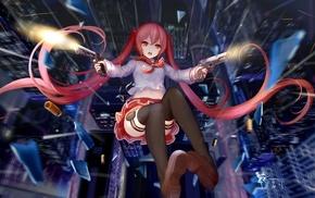 Kanzaki Holmes Aria, twintails, anime girls, anime, Hidan no Aria, school uniform