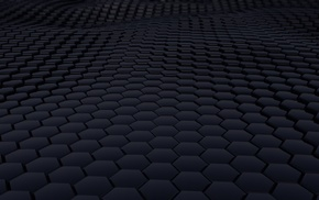 abstract, minimalism, 3D, texture, structure, hexagon