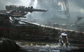 Star Wars, X, wing, R2, D2