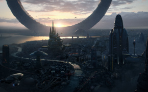 future city, science fiction
