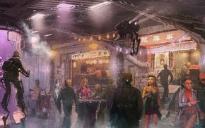 futuristic, science fiction