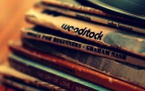 Graham Nash, John Lennon, Woodstock, vinyl, album covers, music