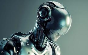 3D, technology, futuristic, science fiction, screw, metal