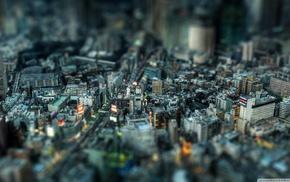 photography, cityscape, city, Tokyo, Japan, tilt shift