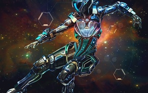 space, science fiction, spacesuit