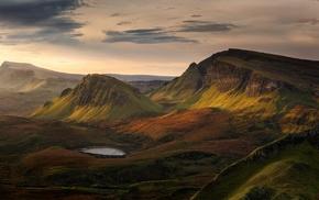 mountains, landscape, Scotland