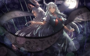 horns, anime, anime girls, Touhou, Kamishirasawa Keine, Ex Keine