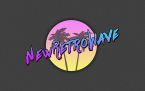 1980s, vintage, neon, synthwave, New Retro Wave