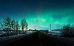 road, aurorae