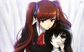 Misaki Mei, twintails, Another, anime girls, anime, Akazawa Izumi
