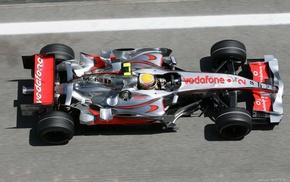 McLaren Formula 1, car, Formula 1, McLaren, Lewis Hamilton