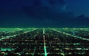 cityscape, photography, city lights, night