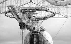 radio telescope, architecture, photography, Arecibo Observatory