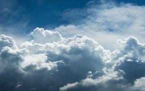 clouds, multiple display, sky