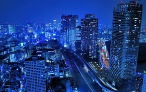 cityscape, urban, photography, blue