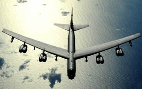 military aircraft, Bomber, photography, Boeing B, 52 Stratofortress, US Air Force
