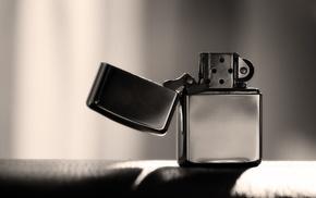photography, monochrome, macro, lighter