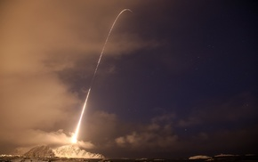 SpaceX, long exposure, sky, photography, rocket