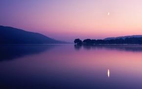 photography, dusk, landscape, reflection, sunset, lake