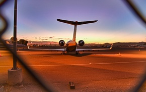 urban, landscape, airport, airplane, photography, jet fighter