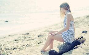 water, sea, girl, photography, beach