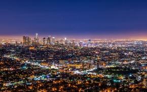 artificial lights, street light, city, lights