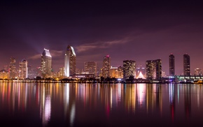 city, reflection