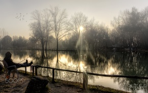 nature, fishing, photography