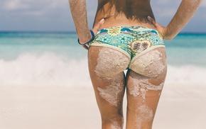 beach, the gap, sand, summer, girl, tanned