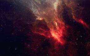 nebula, space, space art