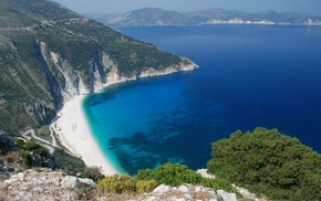 landscape, nature, sea, photography, Greece, water
