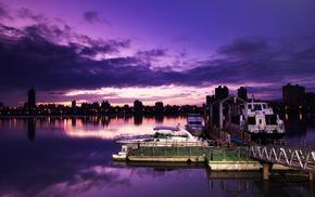 ports, photography, dusk, ship, city, urban