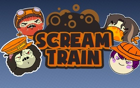 Game Grumps, Steam Train, video games, YouTube, Halloween