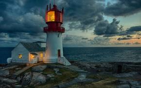 lighthouse, sea, photography