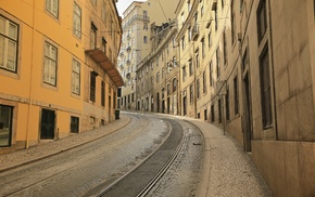 road, city, Portugal, photography, Lisbon