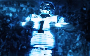 Carolina Panthers, Cam Newton, NFL, graphic design
