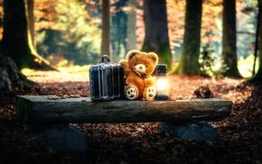 toys, trees, teddy bears
