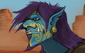fantasy art, trolls