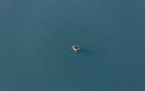 water, boat, fisherman