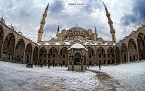 Hagia Sophia, Islamic architecture, city, photography, mosque