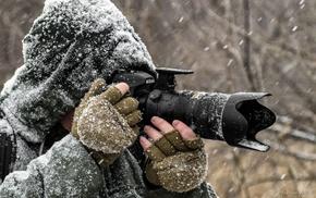 photographer, winter, snow, photography