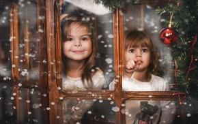 happy, snow, photography, winter, children