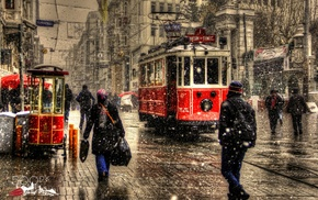 snow, photography, Istanbul, winter, Turkey, city