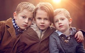 Friends, photography, children