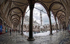 photography, Islamic architecture, city