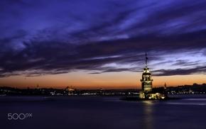 Istanbul, Kz Kulesi, photography, city, 500px