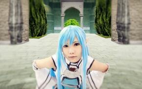 Alfheim Online, Yuuki Asuna, cosplay, Sword Art Online
