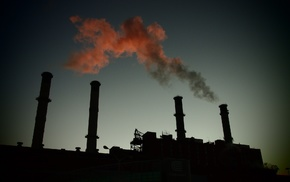 pollution, photography, chimneys, industrial, technology, factories