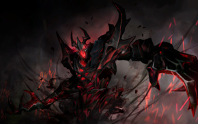 shadow fiend, Dota, Nevermore, video games, Valve, Valve Corporation