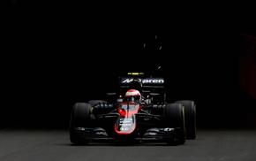 car, simple background, McLaren F1, Formula 1, 2015